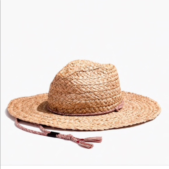 3242bb0888916 Madewell Accessories - Madewell • Biltmore Braided Fedora Hat